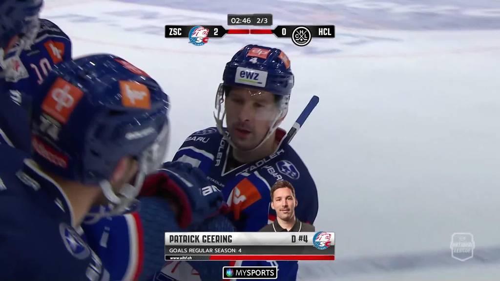 Knapper Sieg:  Der ZSC schlägt Lugano mit 2:1
