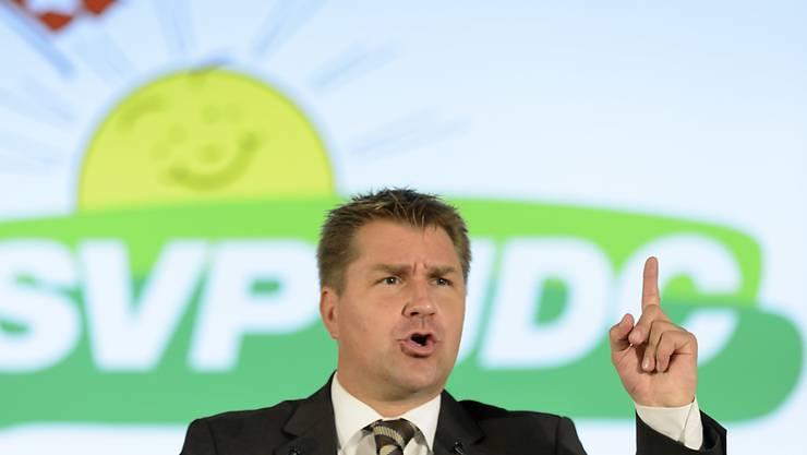 Nicht einen, nein drei Kandidaten soll die SVP laut Parteipräsident Toni Brunner der Bundesversammlung zur Wahl vorschlagen.