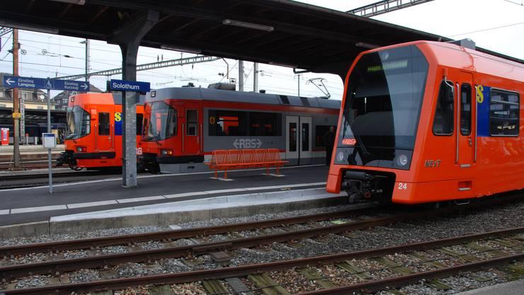 Die Perronanlage in Solothurn muss bis 2025 länger werden.