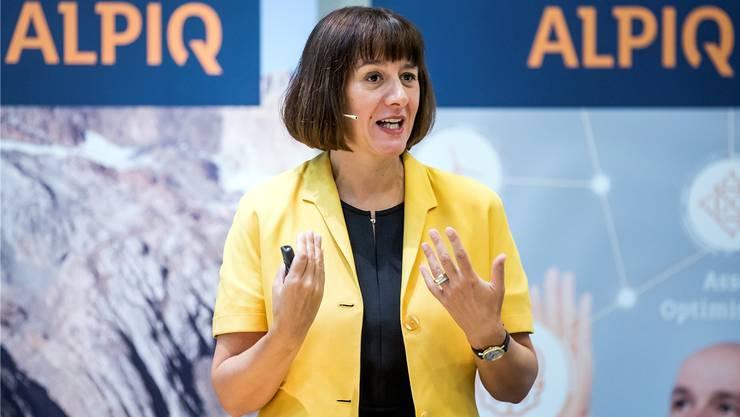Alpiq-Chefin Jasmin Staiblin setzt auf steigende Strompreise.