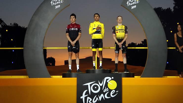 Die Radprofis können auf weiter auf die Durchführung der Tour de France 2020 hoffen