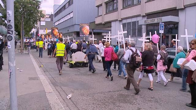 «Marsch fürs Läbe»: Unerwartete Hilfe gegen Innenstadt-Verbot