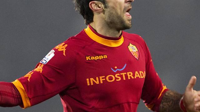 Mirko Vucinic erzielte nach rund einer Stunde das 1:0 für die Römer