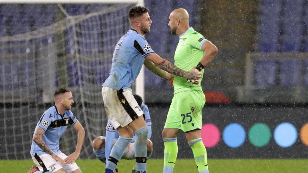 Erschöpft, aber glücklich: Lazio Rom steht in der K.o.-Runde