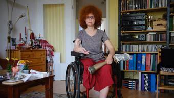 Germany, Berlin, 2019/04/17 Beate Flanz,in ihrer Wohnung in Berlin. (Photo by Gregor Zielke) -