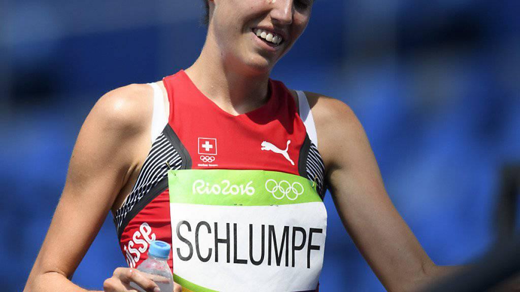 Fabienne Schlumpf - im Bild an den Olympischen Spielen in Rio - siegte für die Schweiz an den Team-EM gleich in zwei Disziplinen: 3000 m Steeple und 5000 m