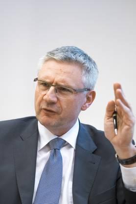 Andreas Glarner, Fraktionschef SVP: «Von der Initiative wären 300 000 KMU betroffen – wenn sie angenommen wird, verkaufe ich meine Firma.»