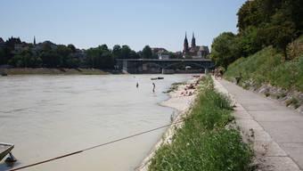 So schön sind die Tage in Basel am Rhein