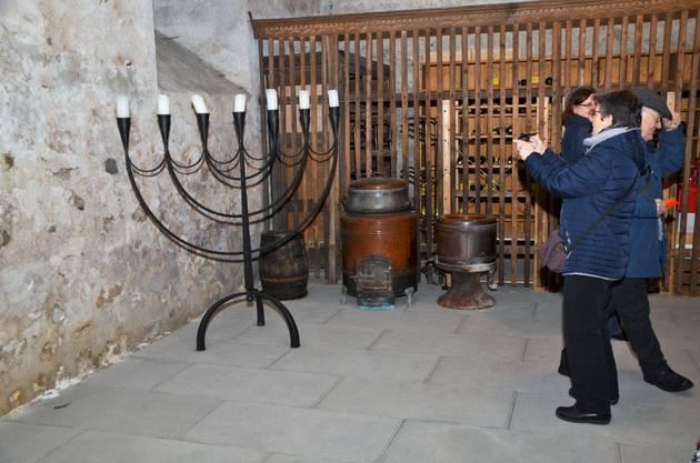 Auch im Zehntenkeller gab es vielerlei historische Schätze zu bestaunen und zu photographieren.