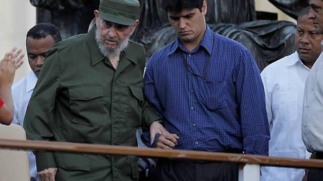 Fidel Castro macht sich für Weltfrieden stark