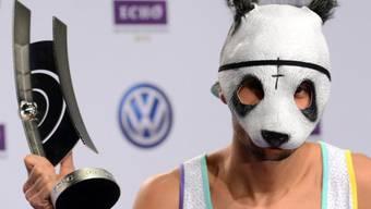 Rapper Cro: maskiert und erfolgreich (Archiv)