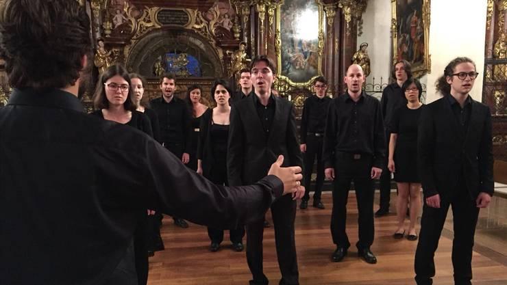 Verweben von Cello- und Gesangsstimme überzeugend vorgetragen: Das Vocalino Wettingen.