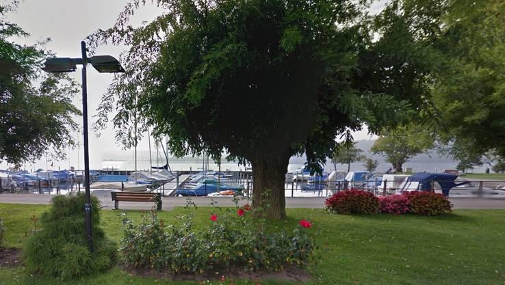 Der Unfall hat sich beim Hafen von La Neuveville ereignet.