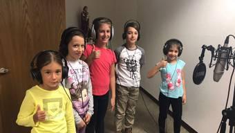 Mit viel Freude dabei: Kinder des italienischen Chors Voci Bianche.
