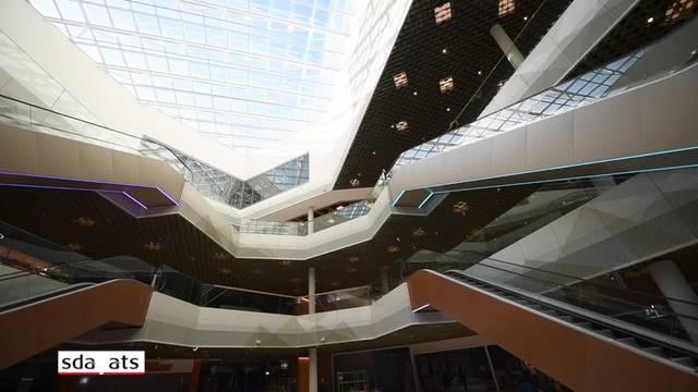 Werfen Sie einen Blick in die «Mall of Switzerland»