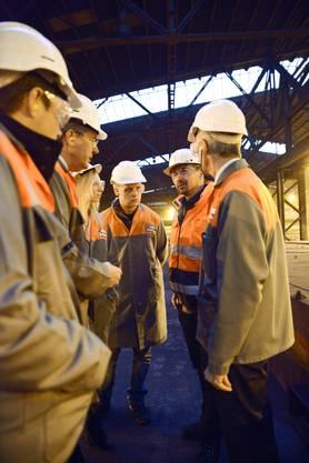 Solothurner Industrietag bei Stahl Gerlafingen  021
