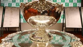 """Die begehrte Trophäe im Davis Cup auch als """"hässlichste Salatschüssel der Welt"""" bekannt"""
