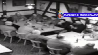 Videosequenz der «Operazione Helvetica», die die kalabresische Polizei am 22. August 2014 ins Internet stellte.