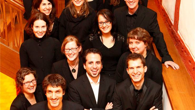 Der Vocalino Chor ist bereit für das Konzert im Kloster.MST