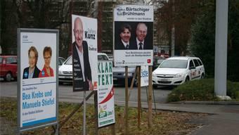 Der Wahlkampf in Schlieren läuft auf Hochtouren – davon zeugen sowohl Wahlplakate als auch politische Schachzüge.