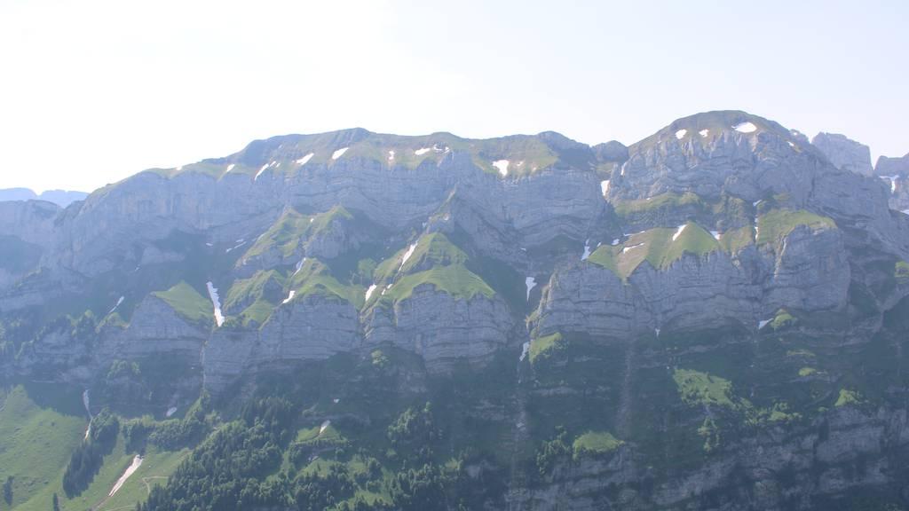 Das Klettergebiet auf der Ebenalp.