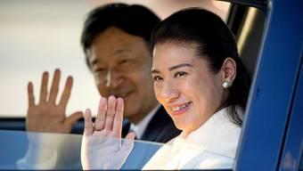 Japans Kronprinzessin Masako-San und ihr Mann Naruhito