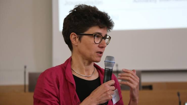 Stella Jegher von Amnesty International