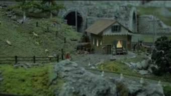 Video von Yannick Mosimann, im Bild: die Anlage des Berner Modell-Eisenbahn-Clubs