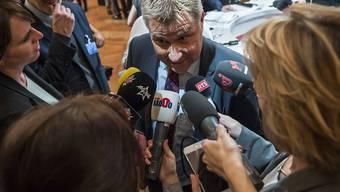 Laut SVP-Präsident Toni Brunner dürfte die Asylfrage das Parlament in der kommenden Legislatur am meisten beschäftigen.