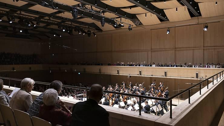 Wegen der neuen Obergrenze von 50 Zuhörerinnen und Zuhörern macht die Tonhalle Maag keine Konzerte mehr. Der Betrieb wird bis auf Weiteres eingestellt. (Archivbild)