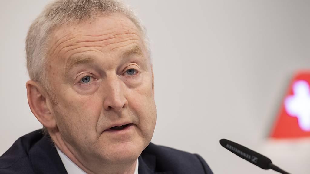 Swiss-Chef Klühr hofft auf Staatsshilfe wegen Corona-Krise