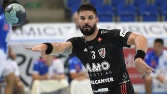 Nach Anzeige von Nicolas Raemy: Milan Skvaril verlässt den HSC Suhr Aarau per Mitte Oktober.