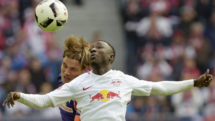 Aufsteiger RB Leipzig sorgt in Deutschland in der 1. Bundesliga für Furore – und Spektakel (im Bild r.: Naby Keita).