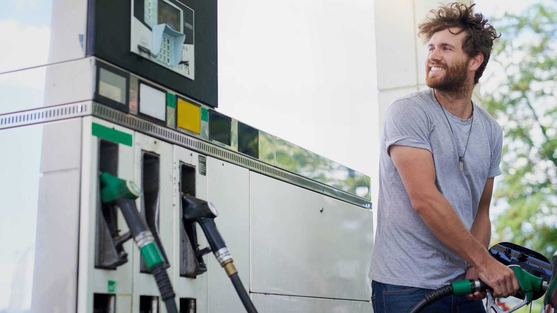 Darum kann die Argovia Tankstelle den Sprit für 1,58 anbieten.
