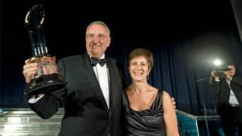 Jean-Paul und Martine Clozel besitzen seit kurzem knapp einen Viertel an der neuen Biotechfirma Idorsia in Allschwil BL.Ken Lennox