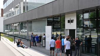 Blick in die neue Fachhochschule Nordwestschweiz Olten FHNW Studenten Bildung Stipendien