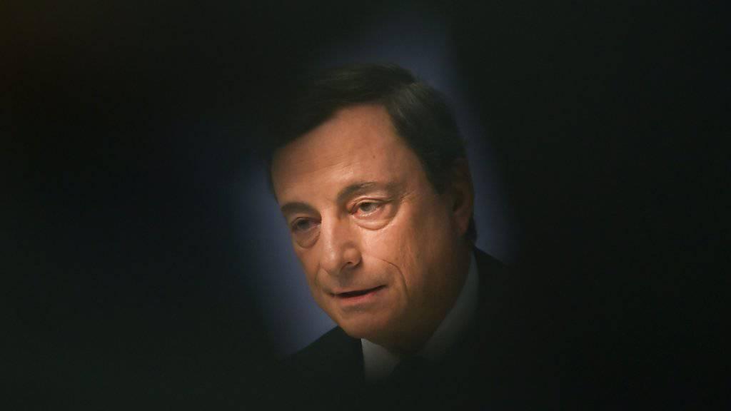 EZB-Chef Mario Draghi plädiert für die Eurozone. (Archiv).