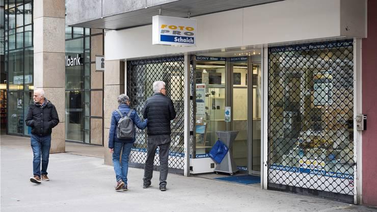Die Foto-Pro-Gruppe ist zahlungsunfähig: Schweizweit machen acht Läden dicht – auch Schaich in Baden.