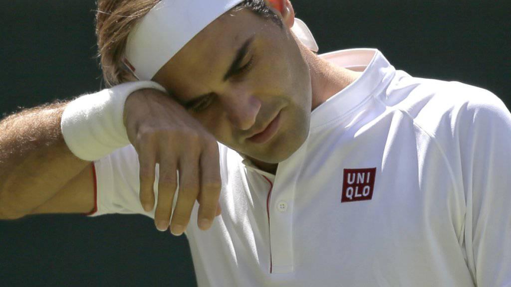 Roger Federer war enttäuscht von der Leistung der Schweizer Nationalmannschaft
