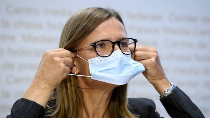 irginie Masserey, Leiterin Sektion Infektionskontrolle beim BAG.