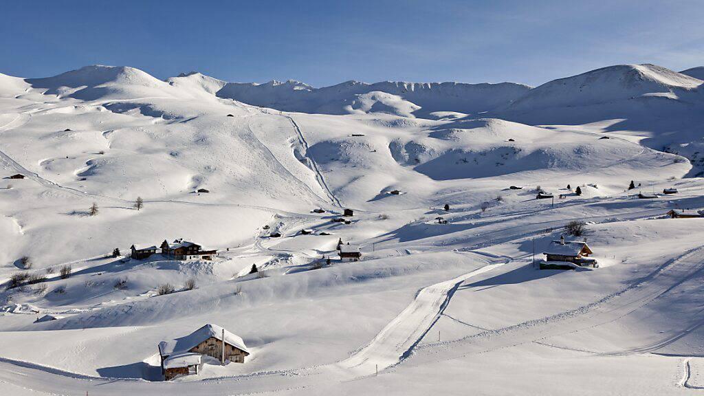 Viele Gäste in den Fideriser Heubergen übernachten gleich im Skigebiet. Nächsten Winter geht das nur mit Covid-Zertifikat. (Archivbild)