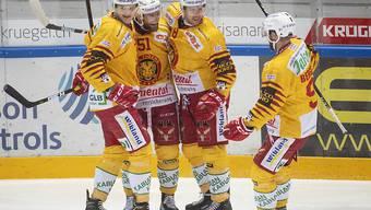 Die SCL Tigers gewinnen mit 4:2 auch das zweite Auswärtsspiel in dieser Saison in Lugano