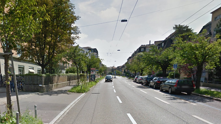 Die Rotbuchstrasse wurde heute Morgen wegen des verdächtigen Gegenstandes gesperrt.