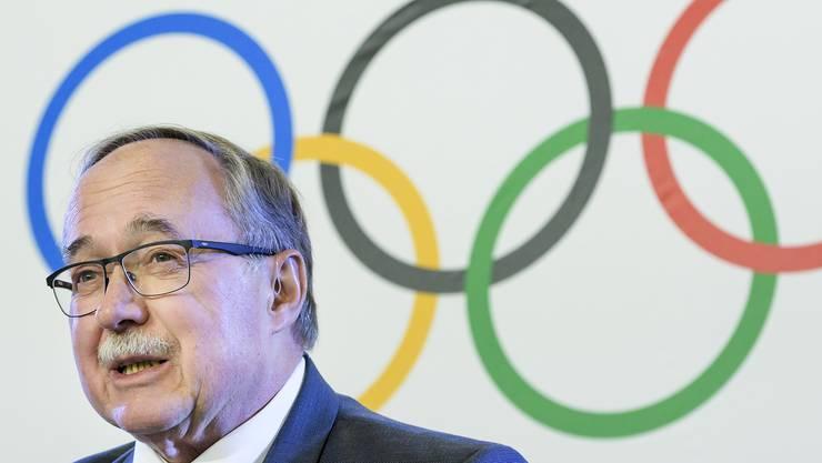 Samuel Schmid leitete für das Internationale Olympische Komitee (IOC) die Untersuchung, die zu einer Doping-Sperre Russlands für Pyeongchang 2018 führte.