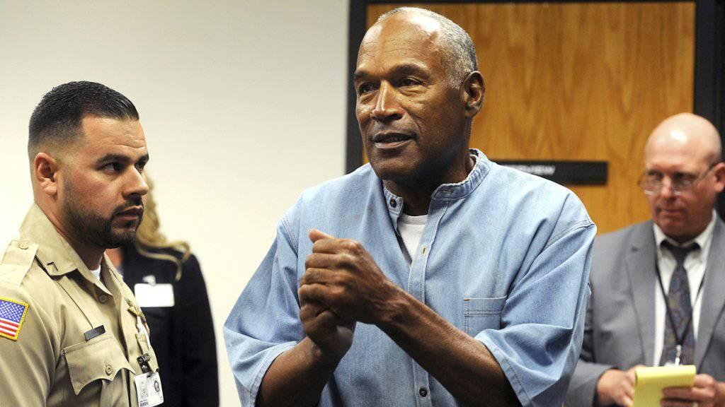 Der frühere US-Football-Star O.J. Simpson ist aus der Haft entlassen worden. (Archiv)