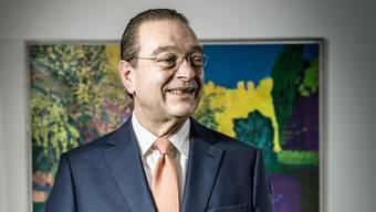 Scharfzüngiger Marktbeobachter: Oswald Grübel , einst Chef der Credit Suisse und der UBS, in seinem Zürcher Büro.
