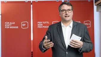 Seit 2008 ist Levrat Präsident der SP Schweiz.