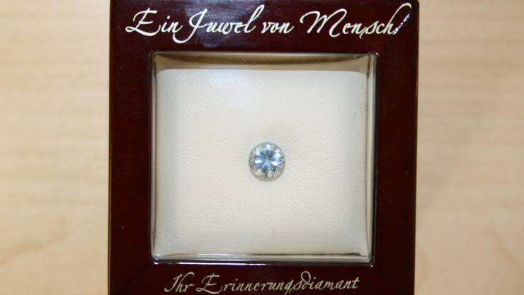 Diamanten-Box