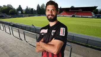 Juan Pablo Garat bleibt dem FC Aarau erhalten.