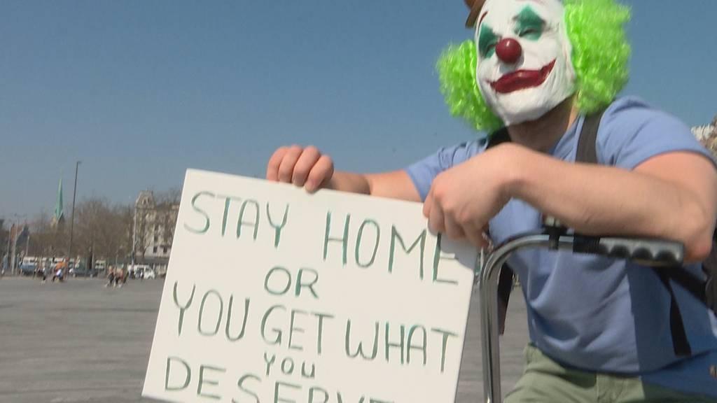 «Bleibt zu Hause!»